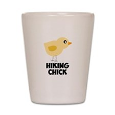 Hiking Chick Shot Glass