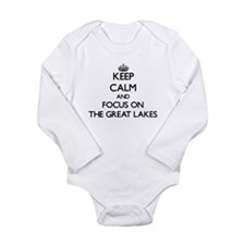Keep Calm by focusing on The Great Lakes Body Suit