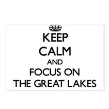 Keep Calm by focusing on Postcards (Package of 8)