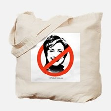 No to Hillary Tote Bag