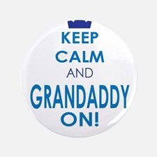 """Keep Calm and Grandaddy On 3.5"""" Button"""