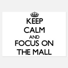 Keep Calm by focusing on The Mall Invitations