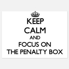 Keep Calm by focusing on The Penalty B Invitations