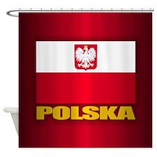 Polska Shower Curtain