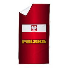 Polska Beach Towel