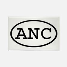 ANC Oval Rectangle Magnet