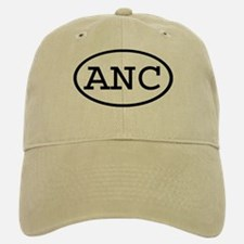 ANC Oval Baseball Baseball Cap