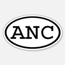 ANC Oval Oval Decal