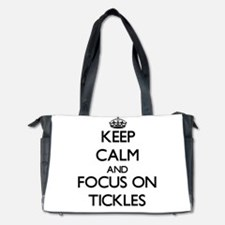 Keep Calm by focusing on Tickles Diaper Bag