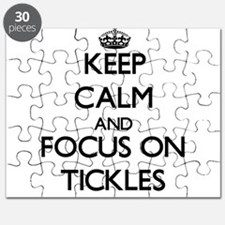 Keep Calm by focusing on Tickles Puzzle