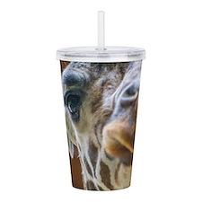 Giraffe Lips Acrylic Double-wall Tumbler