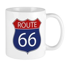 Route 66 Road Sign Mugs