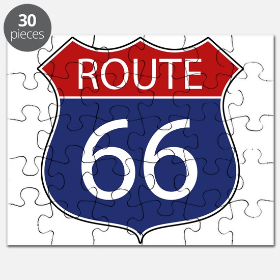 Route 66 Road Sign Puzzle