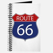 Route 66 Road Sign Journal