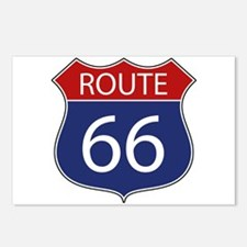 Route 66 Road Sign Postcards (Package of 8)