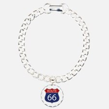 Route 66 Road Sign Bracelet
