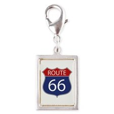 Route 66 Road Sign Charms