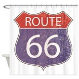 Route 66 Shower Curtains