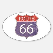 Route 66 Road Sign Decal