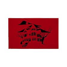 haunted house 3'x5' Area Rug
