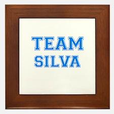 TEAM SILVA Framed Tile