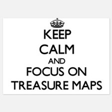 Keep Calm by focusing on Treasure Maps Invitations