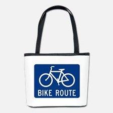 Bike Route Bucket Bag