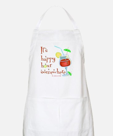 It's 5 O'Clock Somewhere BBQ Apron