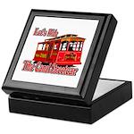 Canal Streetcar New Orleans Keepsake Box