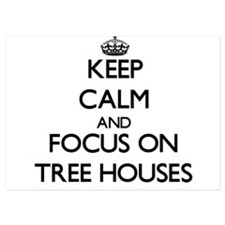 Keep Calm by focusing on Tree Houses Invitations
