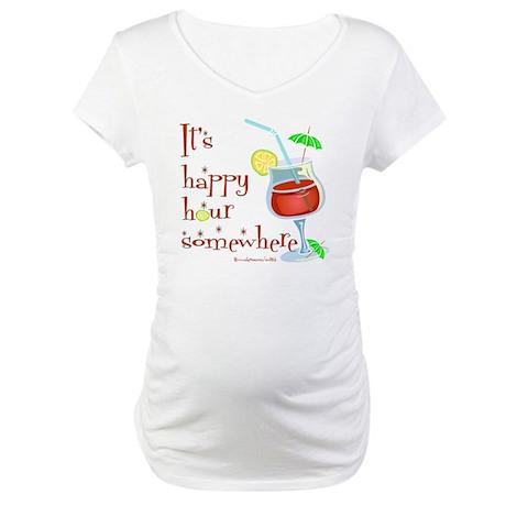 It's 5 O'Clock Somewhere Maternity T-Shirt