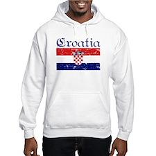 Croatian Flag Hoodie Sweatshirt