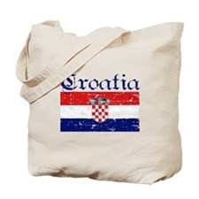 Croatian Flag Tote Bag