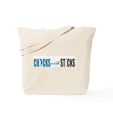 CWS Blue Tote Bag