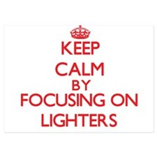 Keep Calm by focusing on Lighters Invitations