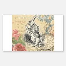 White Rabbit from Alice in Wonderland Decal