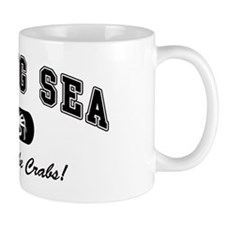 Bering Sea Home of the Crabs! Black Mug