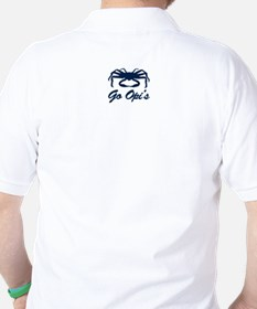 Bering Sea Home of the Crabs! Navy Golf Shirt