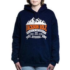 Jackson Hole Vintage Women's Hooded Sweatshirt