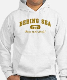 Bering Sea Home of the Crabs! Gold Hoodie