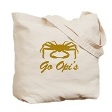 Bering Sea Home of the Crabs! Gold Tote Bag