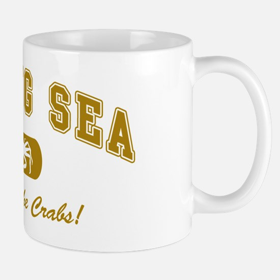 Bering Sea Home of the Crabs! Gold Mug