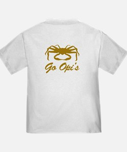 Bering Sea Home of the Crabs! Gold T