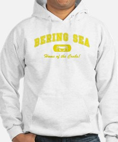 Bering Sea Home of the Crabs! Yellow Hoodie