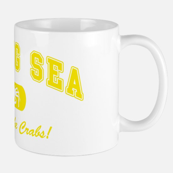 Bering Sea Home of the Crabs! Yellow Mug