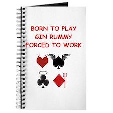 gin rummy Journal