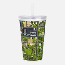 Aerial View Acrylic Double-wall Tumbler