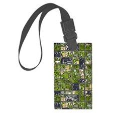 Aerial View Luggage Tag