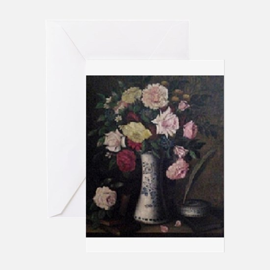 Beautiful You... Floral Bouquet Greeting Cards