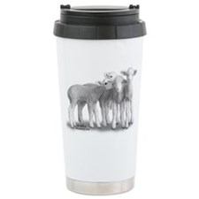 Unique Sheep Travel Mug